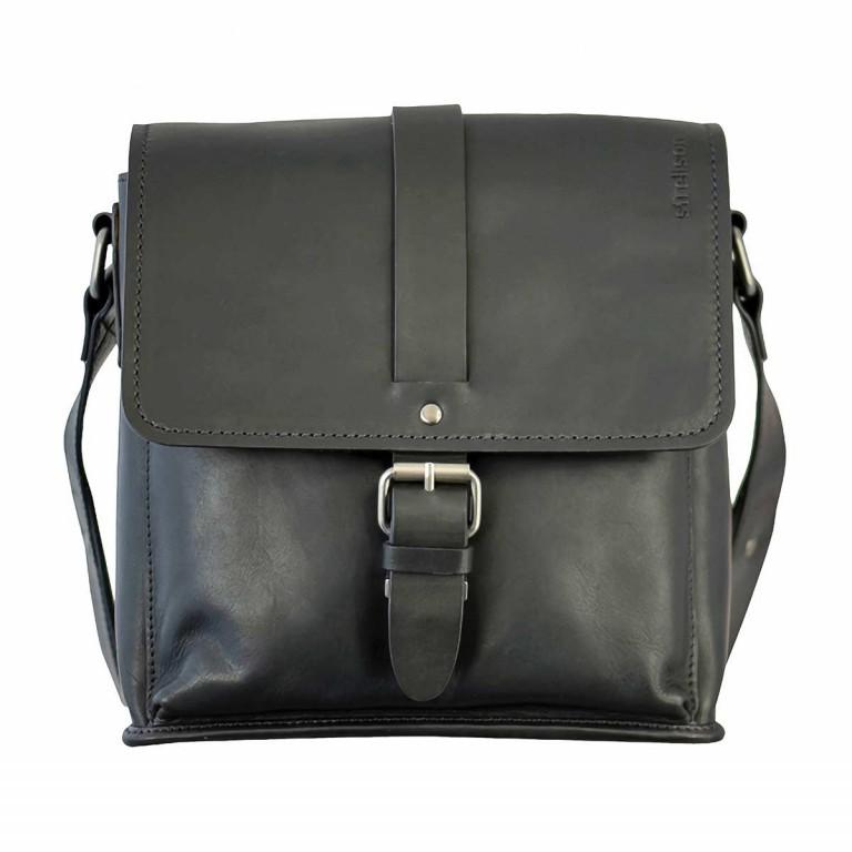 Strellson Harper Messenger S Black, Farbe: schwarz, Marke: Strellson, EAN: 4053533404155, Abmessungen in cm: 25.0x25.0x7.0, Bild 1 von 1