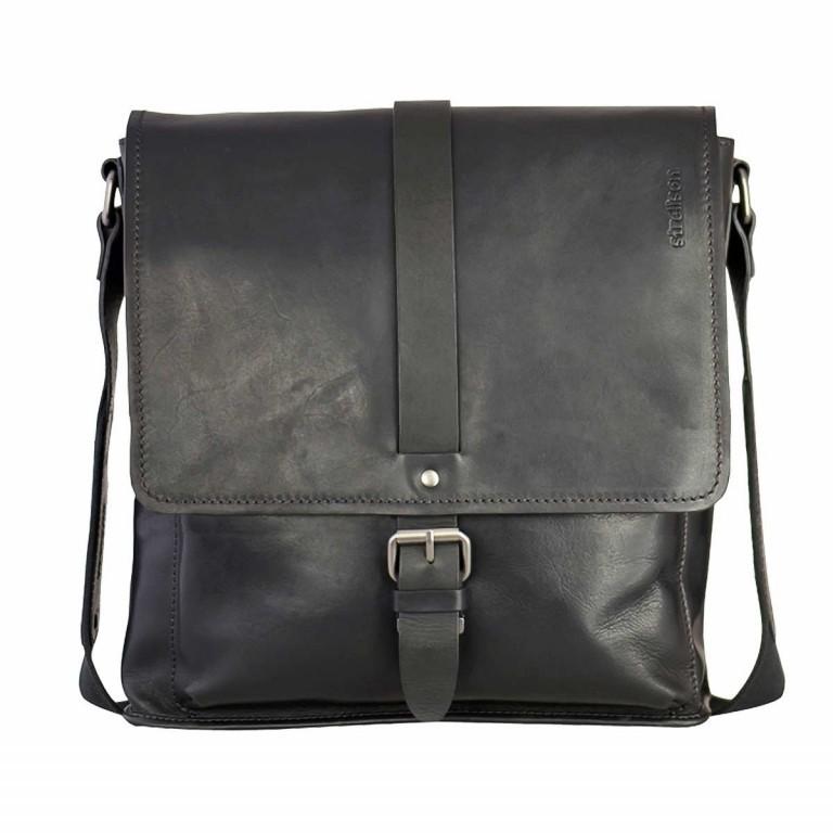 Strellson Harper Messenger M Black, Farbe: schwarz, Marke: Strellson, EAN: 4053533404070, Abmessungen in cm: 30.0x31.0x8.0, Bild 1 von 1