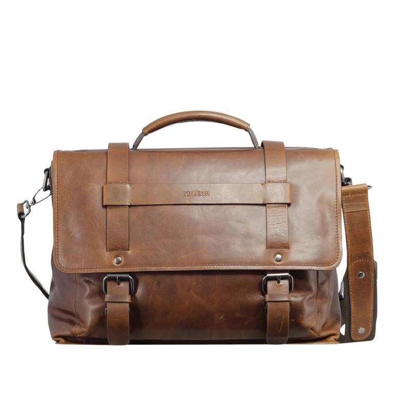 Strellson Harper Briefbag L Brown, Farbe: braun, Marke: Strellson, EAN: 4053533285006, Abmessungen in cm: 40.0x29.0x12.0, Bild 1 von 1