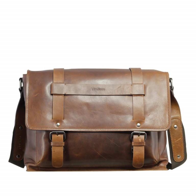 Strellson Harper Messenger L Brown, Farbe: braun, Marke: Strellson, EAN: 4053533285013, Abmessungen in cm: 39.0x31.0x9.0, Bild 1 von 1