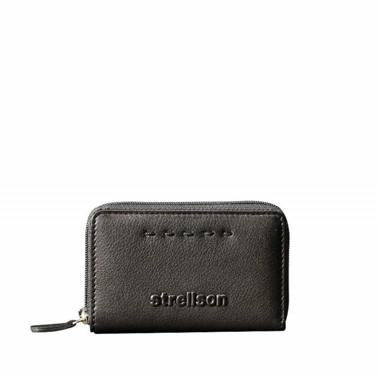 Strellson Oxford Circus Cardholder Black, Farbe: schwarz, Marke: Strellson, EAN: 4053533331758, Abmessungen in cm: 10.0x9.0x1.5, Bild 1 von 2