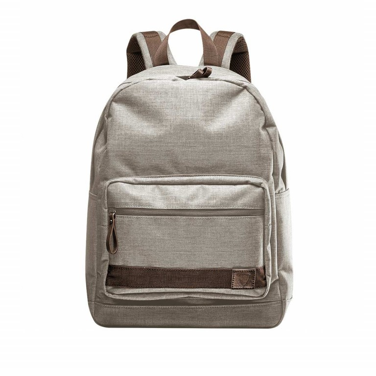 Strellson Northwood Daypack Light Grey, Farbe: grau, Manufacturer: Strellson, EAN: 4053533408856, Dimensions (cm): 32.0x43.5x11.5, Image 1 of 1