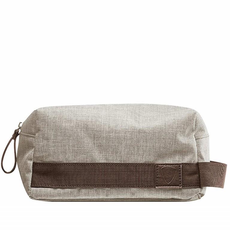 Strellson Northwood Wash Bag Light Grey, Farbe: grau, Marke: Strellson, EAN: 4053533408900, Abmessungen in cm: 25.0x13.0x13.0, Bild 1 von 1