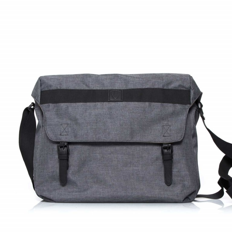 Strellson Northwood Messenger LH Dark Grey, Farbe: anthrazit, Marke: Strellson, EAN: 4053533401901, Abmessungen in cm: 40.0x32.0x12.0, Bild 1 von 4