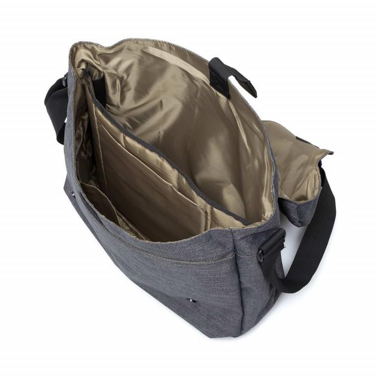 Strellson Northwood Messenger LH Dark Grey, Farbe: anthrazit, Marke: Strellson, EAN: 4053533401901, Abmessungen in cm: 40.0x32.0x12.0, Bild 4 von 4