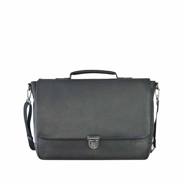 Strellson Garret Briefbag S Black, Farbe: schwarz, Marke: Strellson, EAN: 4053533403394, Abmessungen in cm: 40.0x29.0x12.0, Bild 1 von 4