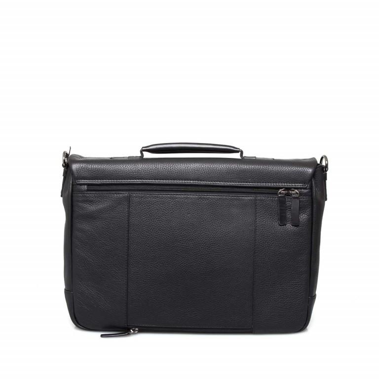 Strellson Garret Briefbag S Black, Farbe: schwarz, Marke: Strellson, EAN: 4053533403394, Abmessungen in cm: 40.0x29.0x12.0, Bild 4 von 4