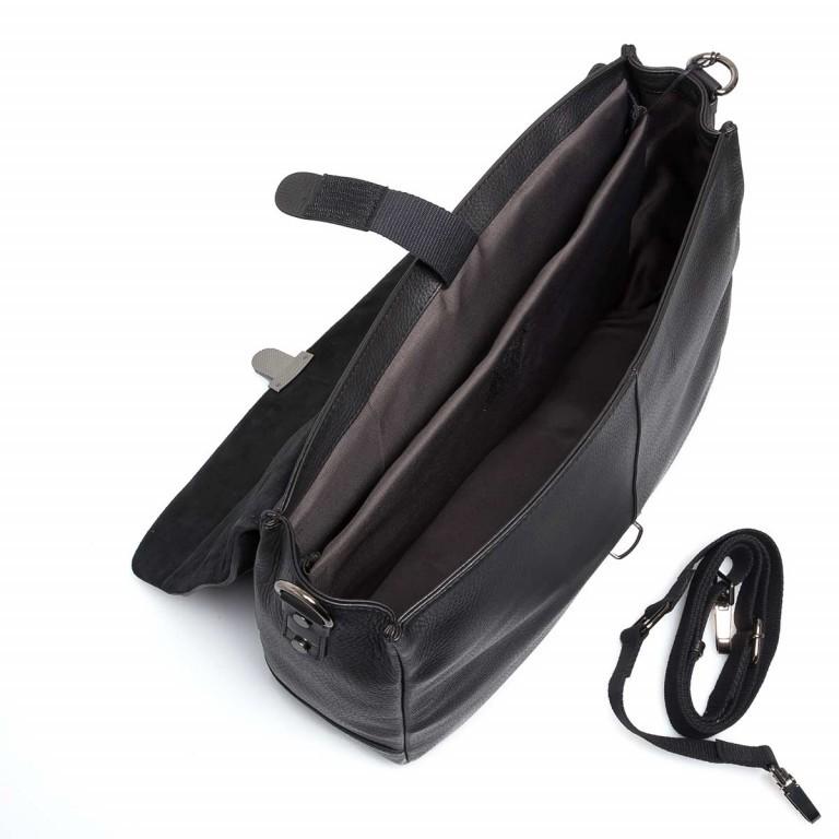 Strellson Garret Briefbag S Black, Farbe: schwarz, Marke: Strellson, EAN: 4053533403394, Abmessungen in cm: 40.0x29.0x12.0, Bild 2 von 4