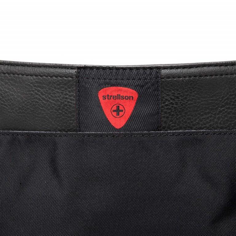 Strellson Paddington Messengerbag Black, Farbe: schwarz, Marke: Strellson, EAN: 4053533403714, Abmessungen in cm: 40.0x32.0x12.0, Bild 5 von 5
