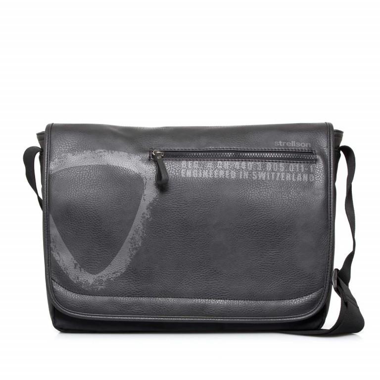 Strellson Paddington Messengerbag Black, Farbe: schwarz, Marke: Strellson, EAN: 4053533403714, Abmessungen in cm: 40.0x32.0x12.0, Bild 1 von 5