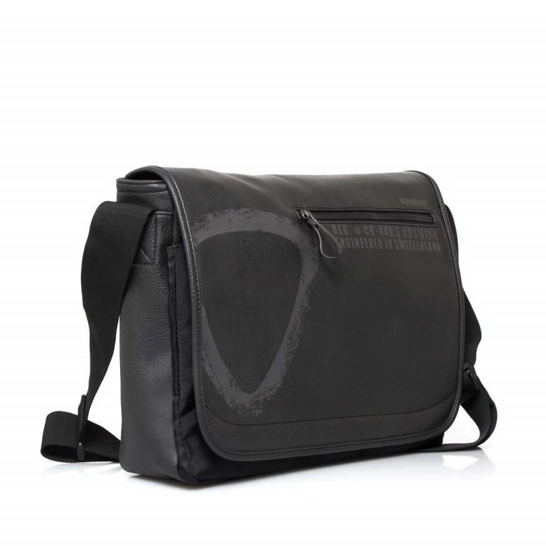 Strellson Paddington Messengerbag Black, Farbe: schwarz, Marke: Strellson, EAN: 4053533403714, Abmessungen in cm: 40.0x32.0x12.0, Bild 2 von 5