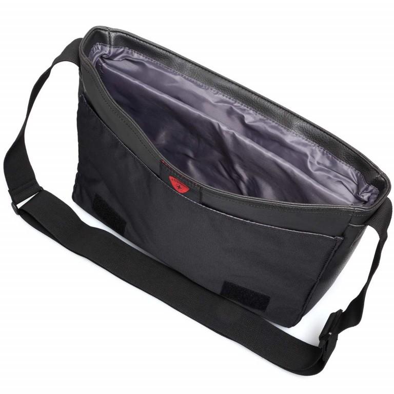 Strellson Paddington Messengerbag Black, Farbe: schwarz, Marke: Strellson, EAN: 4053533403714, Abmessungen in cm: 40.0x32.0x12.0, Bild 4 von 5
