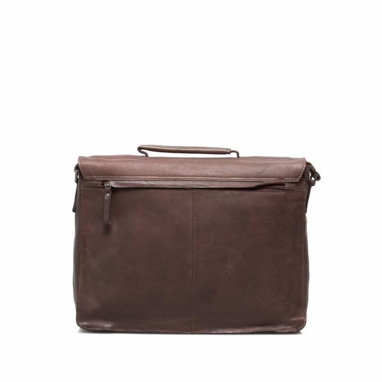 Strellson Upminster Briefbag L Dark Brown, Farbe: braun, Marke: Strellson, EAN: 4053533404087, Abmessungen in cm: 40.0x30.0x10.0, Bild 4 von 4