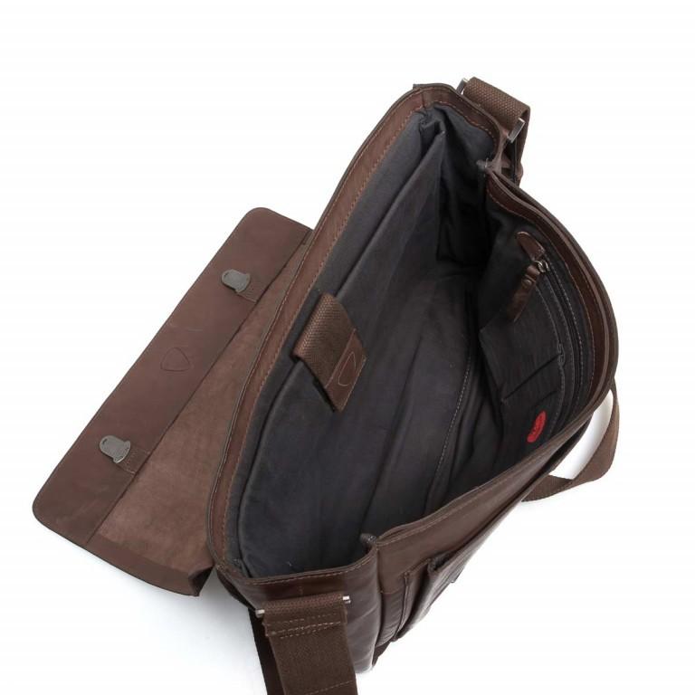 Strellson Upminster Briefbag L Dark Brown, Farbe: braun, Marke: Strellson, EAN: 4053533404087, Abmessungen in cm: 40.0x30.0x10.0, Bild 2 von 4
