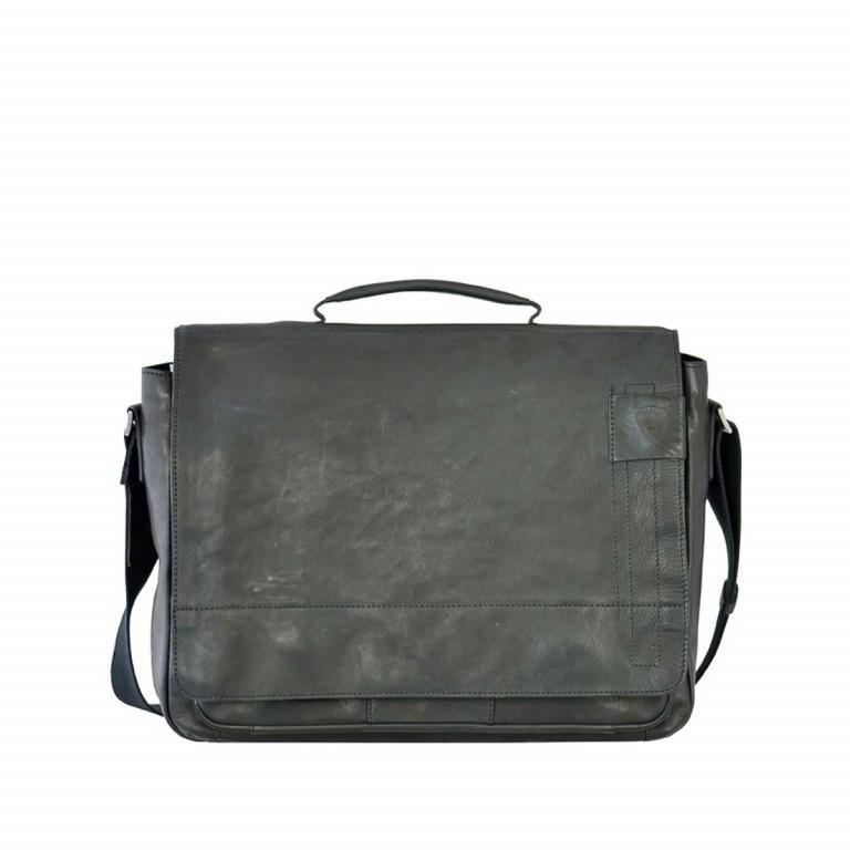Strellson Upminster Briefbag L Black, Farbe: schwarz, Marke: Strellson, EAN: 4053533404100, Abmessungen in cm: 40.0x30.0x10.0, Bild 1 von 4