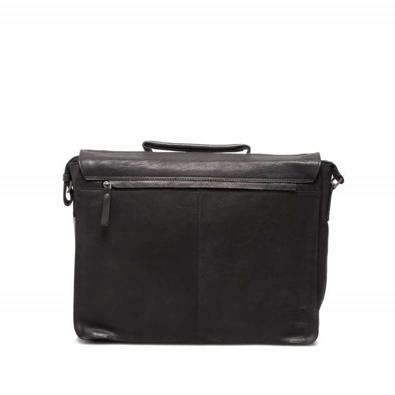 Strellson Upminster Briefbag L Black, Farbe: schwarz, Marke: Strellson, EAN: 4053533404100, Abmessungen in cm: 40.0x30.0x10.0, Bild 4 von 4