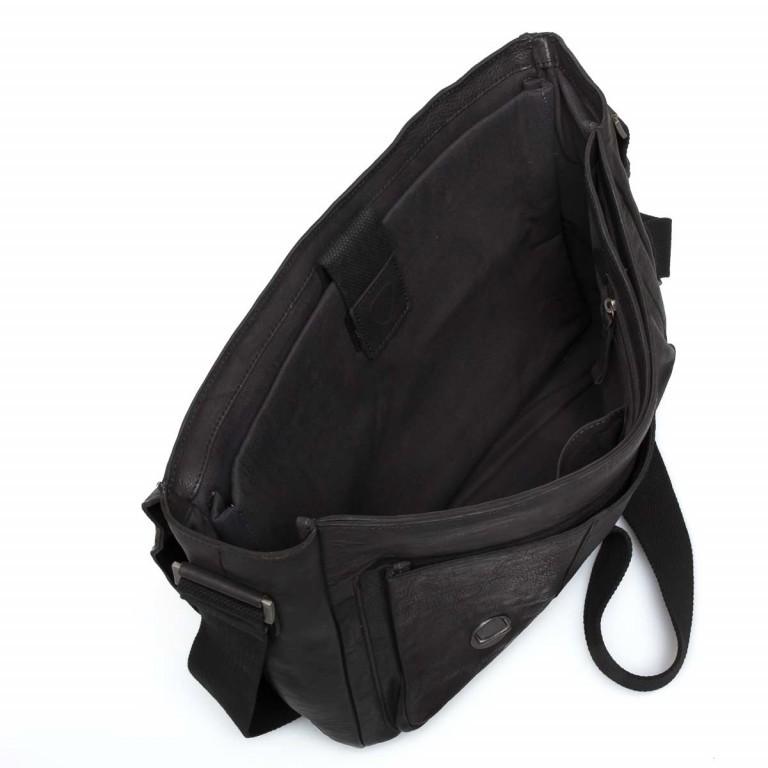 Strellson Upminster Briefbag L Black, Farbe: schwarz, Marke: Strellson, EAN: 4053533404100, Abmessungen in cm: 40.0x30.0x10.0, Bild 2 von 4
