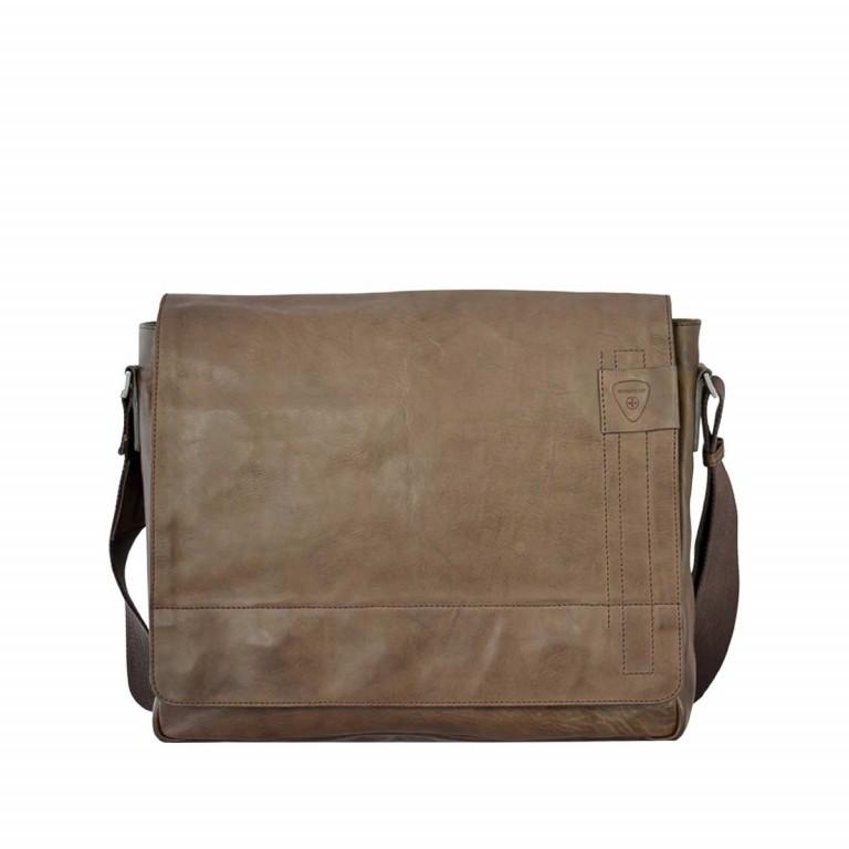 Strellson Upminster Messenger LH Dark Brown, Farbe: braun, Manufacturer: Strellson, EAN: 4053533404216, Dimensions (cm): 40.0x32.0x10.0, Image 1 of 4