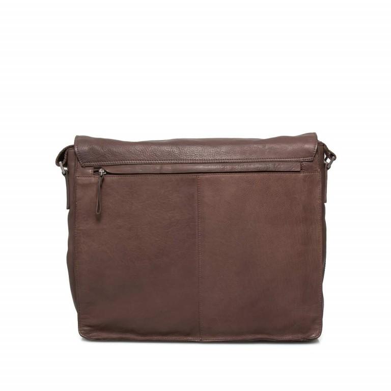Strellson Upminster Messenger LH Dark Brown, Farbe: braun, Marke: Strellson, EAN: 4053533404216, Abmessungen in cm: 40.0x32.0x10.0, Bild 2 von 4