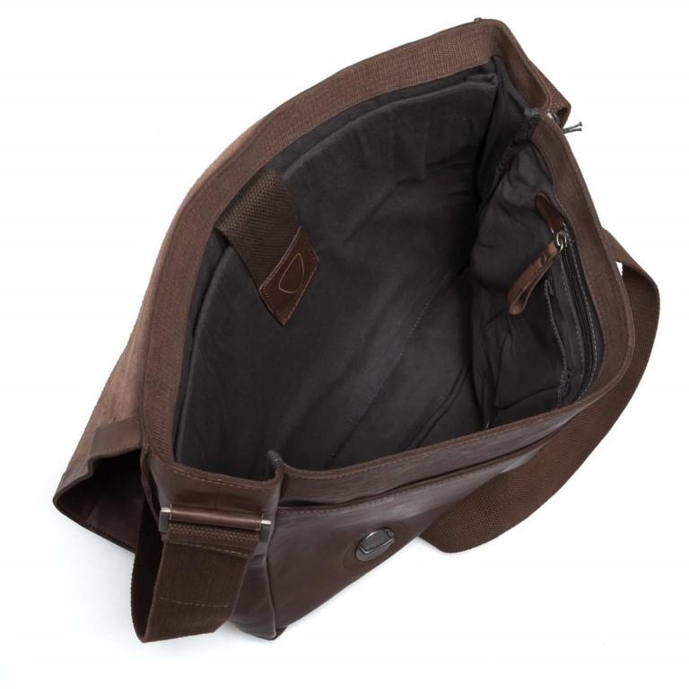 Strellson Upminster Messenger LH Dark Brown, Farbe: braun, Marke: Strellson, EAN: 4053533404216, Abmessungen in cm: 40.0x32.0x10.0, Bild 3 von 4