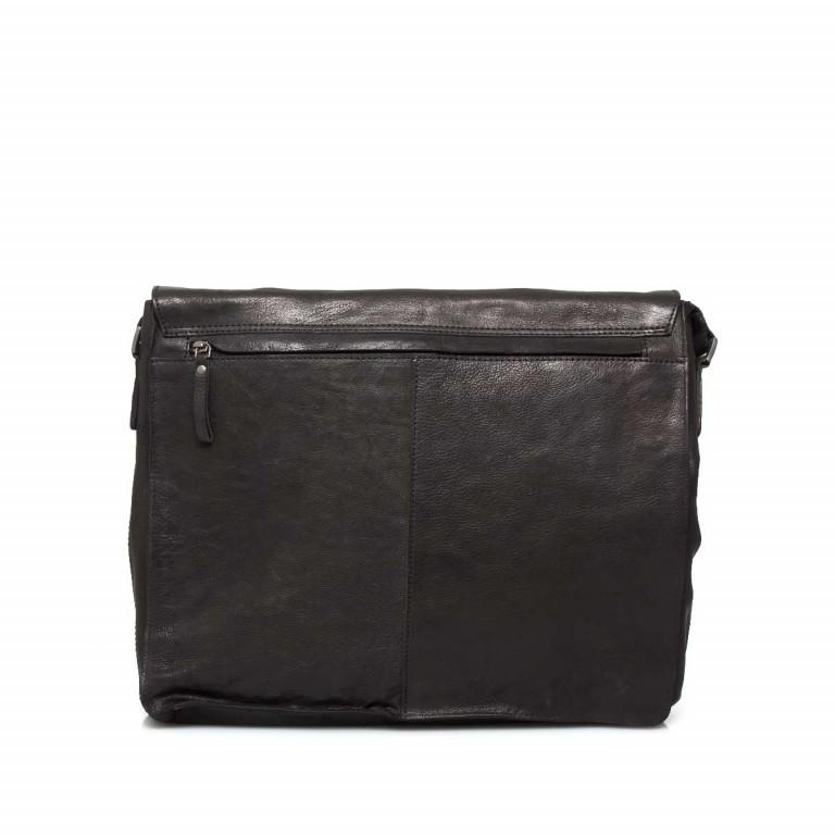 Strellson Upminster Messenger LH Black, Farbe: schwarz, Marke: Strellson, EAN: 4053533404230, Abmessungen in cm: 40.0x32.0x10.0, Bild 2 von 4