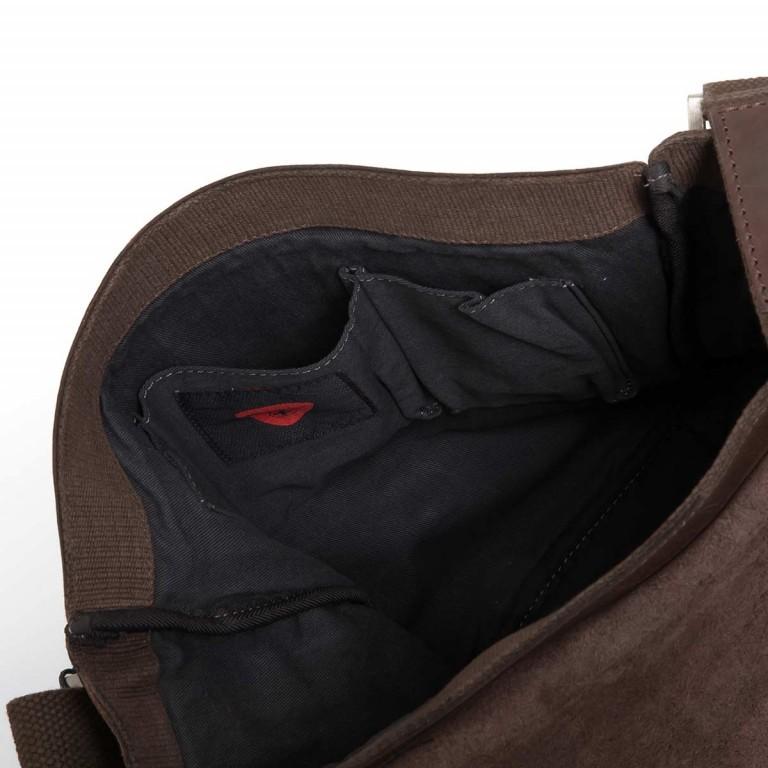 Strellson Upminster Messenger MV Dark Brown, Farbe: braun, Marke: Strellson, EAN: 4053533404285, Abmessungen in cm: 30.0x31.0x8.0, Bild 4 von 4