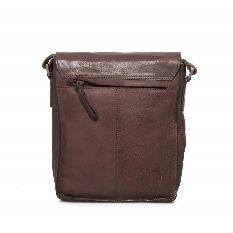 Strellson Upminster Messenger SV Dark Brown, Farbe: braun, Marke: Strellson, EAN: 4053533404353, Abmessungen in cm: 20.0x23.0x6.0, Bild 3 von 3