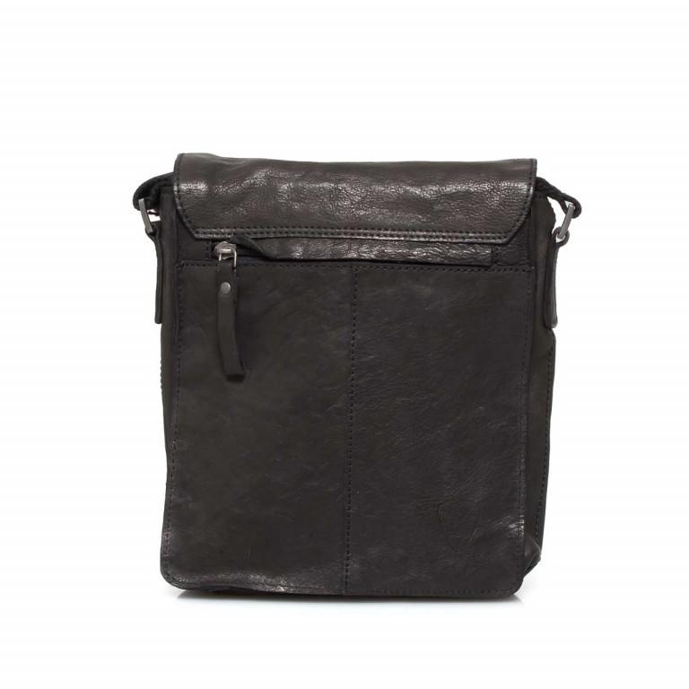 Strellson Upminster Messenger SV Black, Farbe: schwarz, Marke: Strellson, EAN: 4053533404377, Abmessungen in cm: 20.0x23.0x6.0, Bild 4 von 4