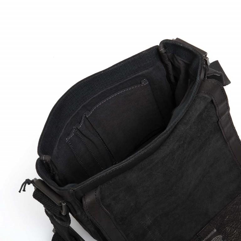 Strellson Upminster Messenger SV Black, Farbe: schwarz, Marke: Strellson, EAN: 4053533404377, Abmessungen in cm: 20.0x23.0x6.0, Bild 2 von 4