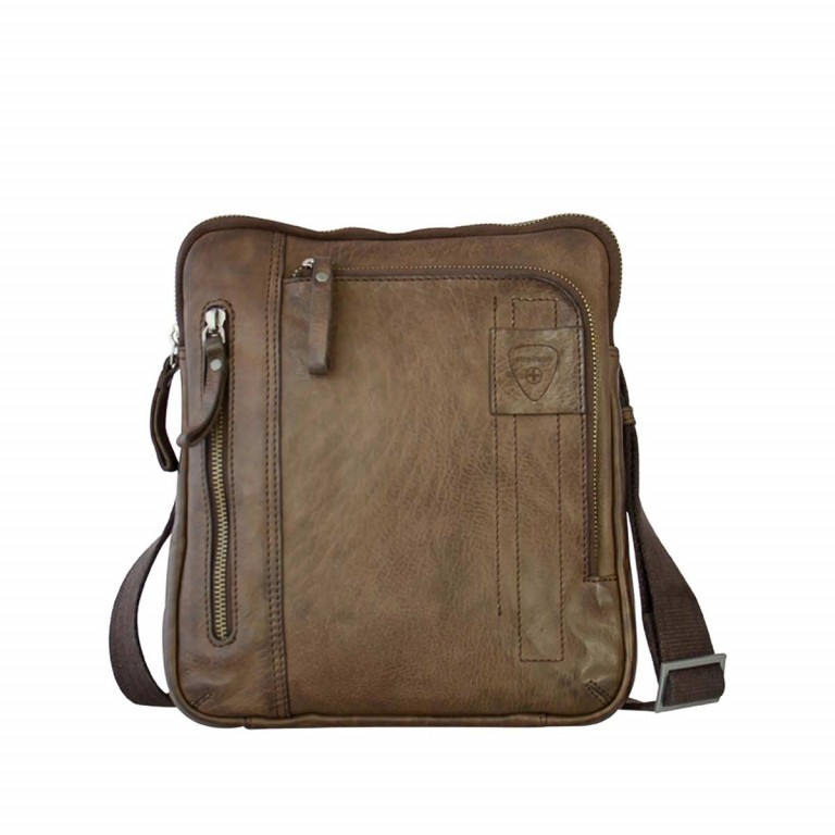 Strellson Upminster Shoulderbag SV Dark Brown, Farbe: braun, Marke: Strellson, EAN: 4053533404421, Abmessungen in cm: 24.0x27.0x4.0, Bild 1 von 3