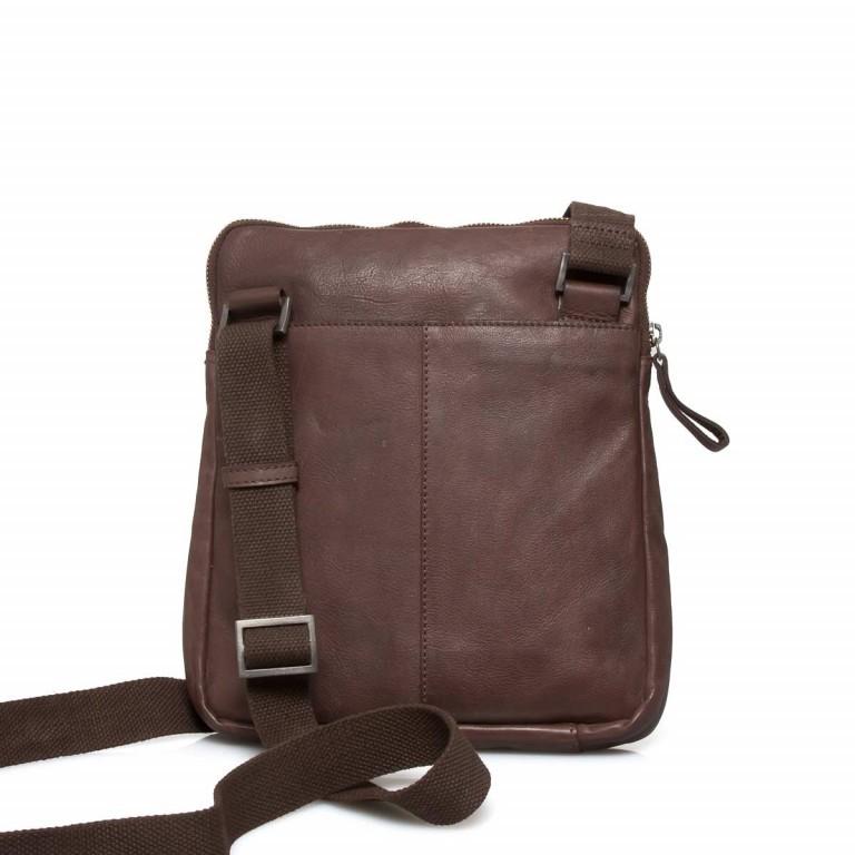 Strellson Upminster Shoulderbag SV Dark Brown, Farbe: braun, Marke: Strellson, EAN: 4053533404421, Abmessungen in cm: 24.0x27.0x4.0, Bild 3 von 3