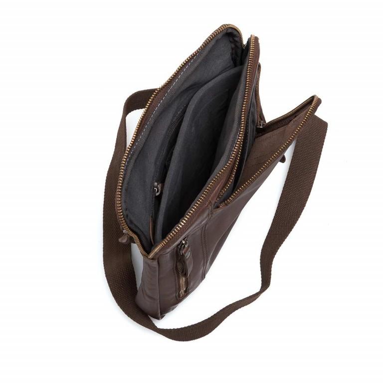 Strellson Upminster Shoulderbag SV Dark Brown, Farbe: braun, Marke: Strellson, EAN: 4053533404421, Abmessungen in cm: 24.0x27.0x4.0, Bild 2 von 3
