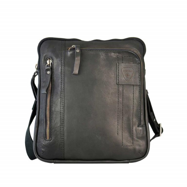 Strellson Upminster Shoulderbag SV Black, Farbe: schwarz, Marke: Strellson, EAN: 4053533404445, Abmessungen in cm: 24.0x27.0x4.0, Bild 1 von 3