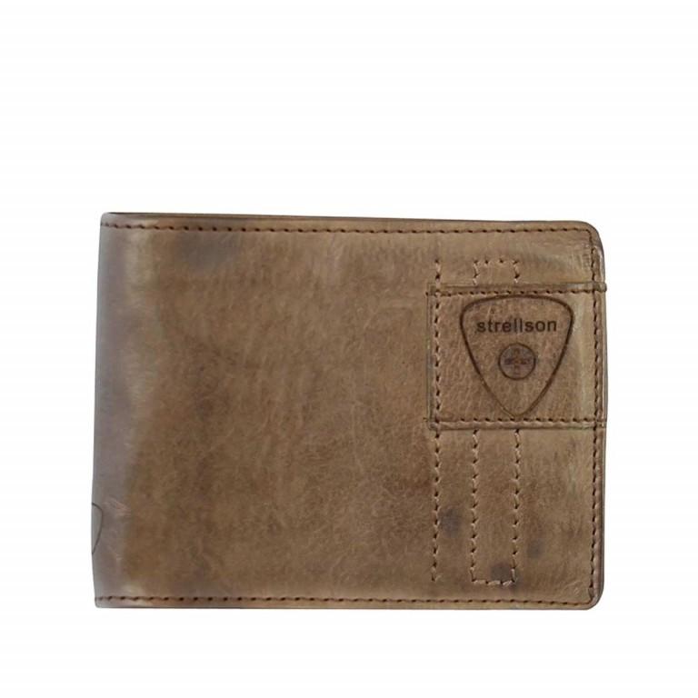 Strellson Upminster Billfold H6 Dark Brown, Farbe: braun, Marke: Strellson, EAN: 4053533404490, Abmessungen in cm: 12.0x9.5x2.0, Bild 1 von 2