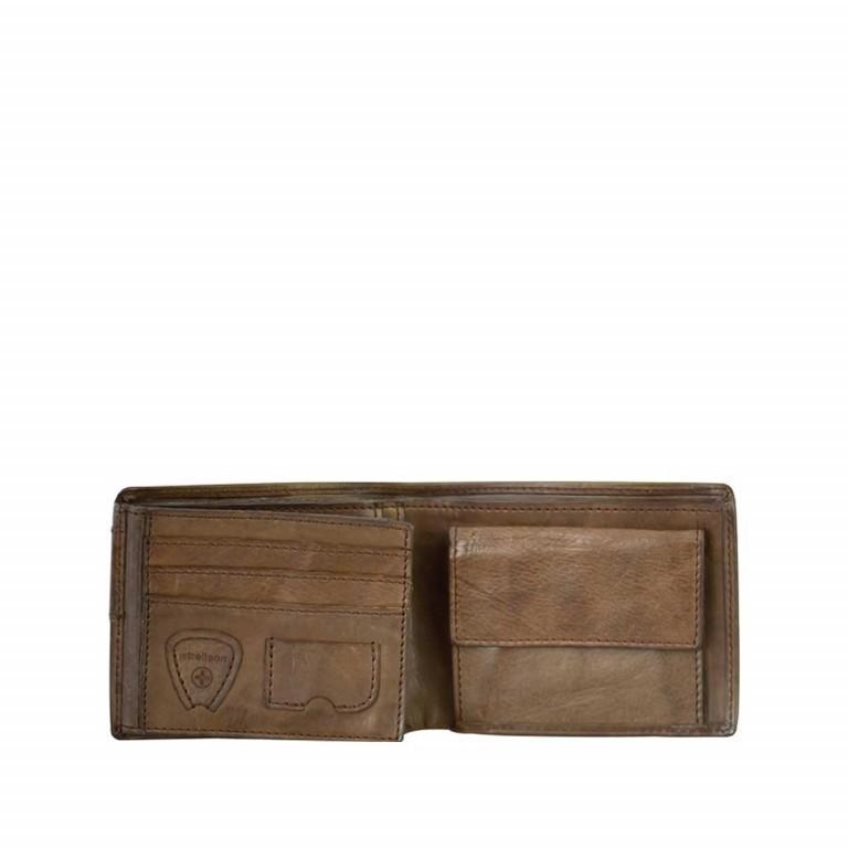 Strellson Upminster Billfold H6 Dark Brown, Farbe: braun, Marke: Strellson, EAN: 4053533404490, Abmessungen in cm: 12.0x9.5x2.0, Bild 2 von 2