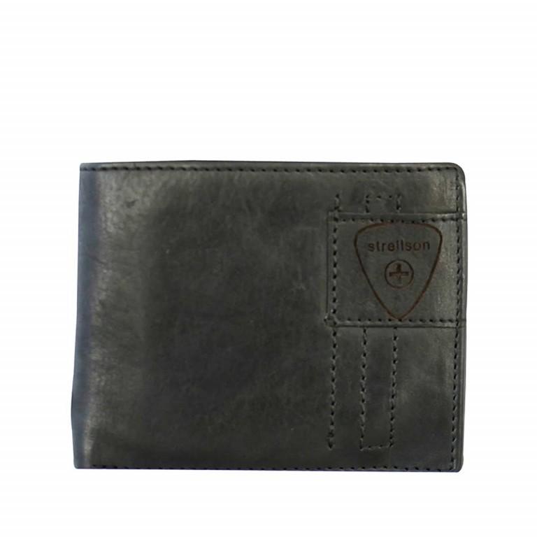 Strellson Upminster Billfold H6 Black, Farbe: schwarz, Marke: Strellson, EAN: 4053533404513, Abmessungen in cm: 12.0x9.5x2.0, Bild 1 von 2
