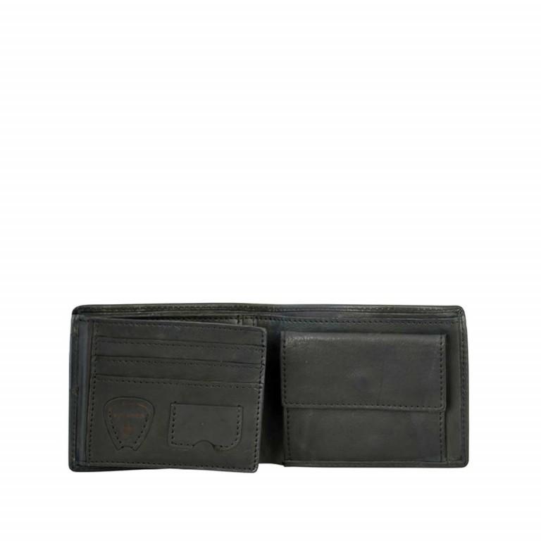 Strellson Upminster Billfold H6 Black, Farbe: schwarz, Marke: Strellson, EAN: 4053533404513, Abmessungen in cm: 12.0x9.5x2.0, Bild 2 von 2