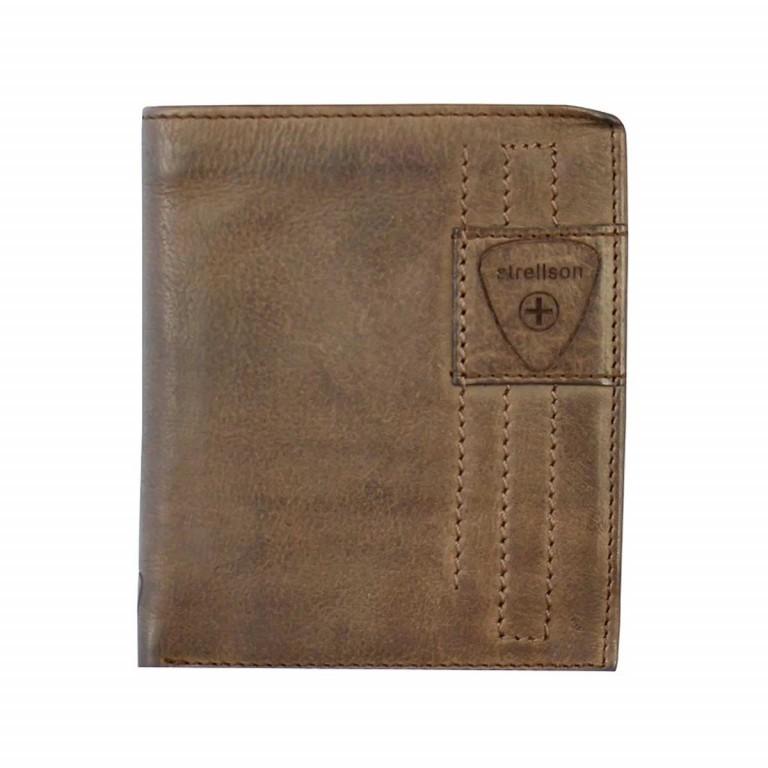 Strellson Upminster Billfold V12 Dark Brown, Farbe: braun, Marke: Strellson, EAN: 4053533404568, Abmessungen in cm: 12.5x10.0x2.5, Bild 1 von 2