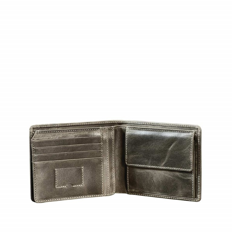 Strellson Blake Billfold H8 Dark Grey, Farbe: anthrazit, Manufacturer: Strellson, EAN: 4053533405312, Dimensions (cm): 12.5x10.0x2.5, Image 2 of 2
