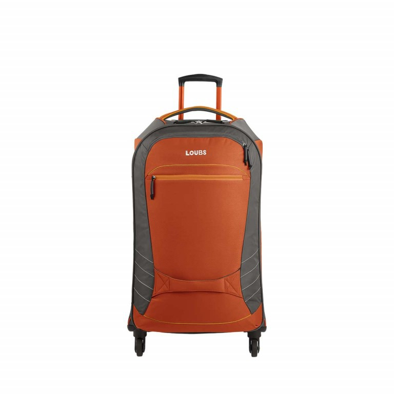 Loubs Sport Spinner-Trolley 4 Rollen S 59cm Orange, Farbe: anthrazit, grau, orange, Marke: Loubs, Abmessungen in cm: 35.0x59.0x22.0, Bild 1 von 4