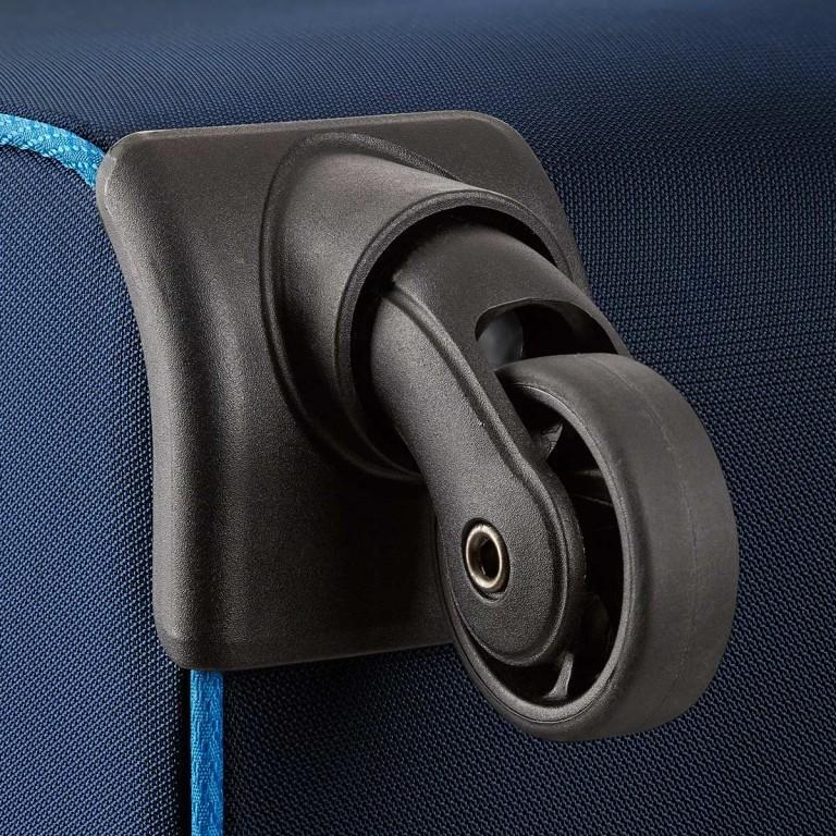 Loubs Sport Spinner-Trolley 4 Rollen S 59cm Blau, Farbe: blau/petrol, Marke: Loubs, Abmessungen in cm: 35.0x59.0x22.0, Bild 4 von 4