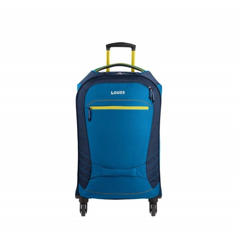 Loubs Sport Spinner-Trolley 4 Rollen S 59cm Blau, Farbe: blau/petrol, Marke: Loubs, Abmessungen in cm: 35.0x59.0x22.0, Bild 1 von 4