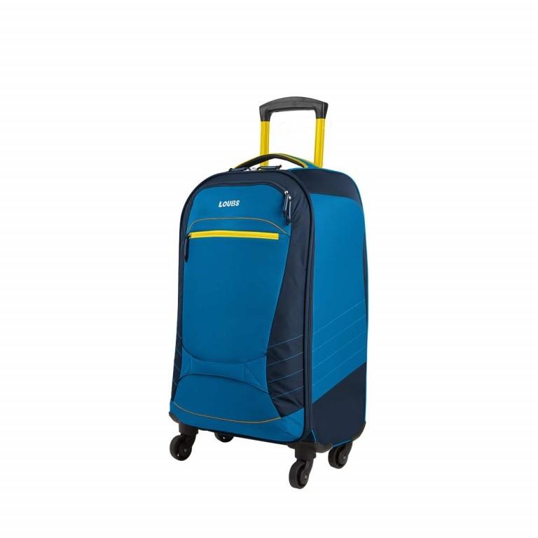 Loubs Sport Spinner-Trolley 4 Rollen S 59cm Blau, Farbe: blau/petrol, Marke: Loubs, Abmessungen in cm: 35.0x59.0x22.0, Bild 2 von 4