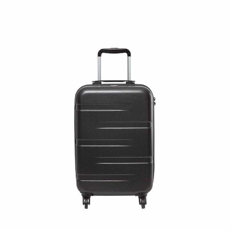 Loubs Tech Spinner-Trolley 4 Rollen S 57cm Schwarz, Farbe: schwarz, Marke: Loubs, Abmessungen in cm: 36.0x57.0x20.0, Bild 1 von 5