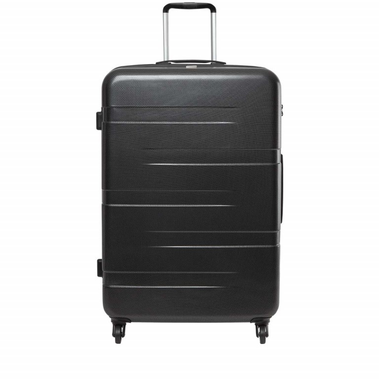 Loubs Tech Spinner-Trolley 4 Rollen L 77cm Schwarz, Farbe: schwarz, Manufacturer: Loubs, Dimensions (cm): 57.0x76.0x29.0, Image 1 of 5