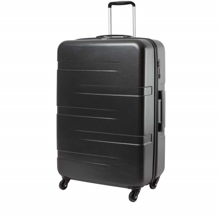 Loubs Tech Spinner-Trolley 4 Rollen L 77cm Schwarz, Farbe: schwarz, Manufacturer: Loubs, Dimensions (cm): 57.0x76.0x29.0, Image 2 of 5