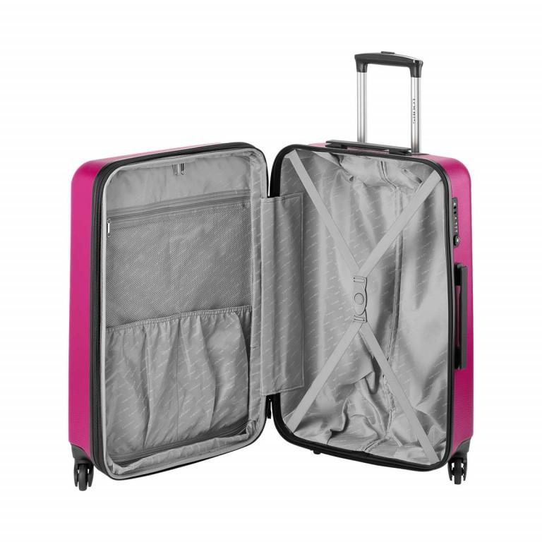 Loubs Trolley 4-Rollen Brisbane 66cm Pink, Farbe: rosa/pink, Marke: Loubs, Abmessungen in cm: 44.0x66.0x27.0, Bild 4 von 5