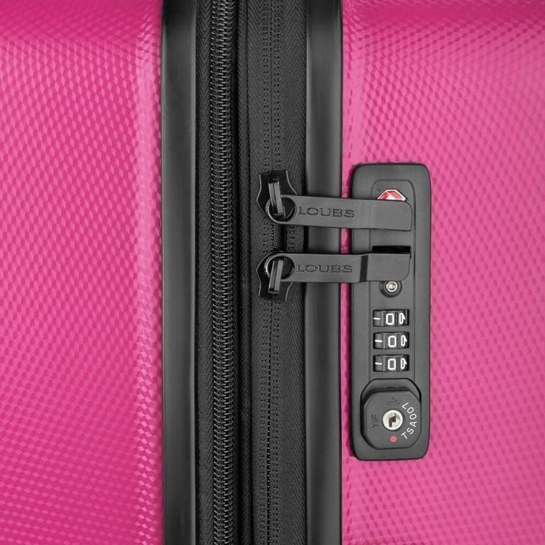 Loubs Trolley 4-Rollen Brisbane 66cm Pink, Farbe: rosa/pink, Marke: Loubs, Abmessungen in cm: 44.0x66.0x27.0, Bild 3 von 5