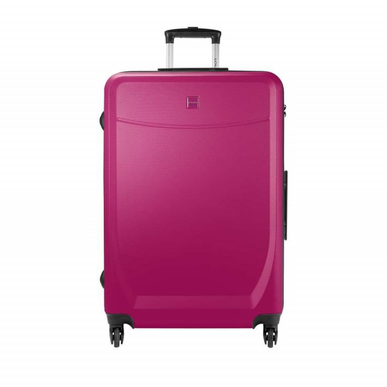 Loubs Trolley 4-Rollen Brisbane 76cm Pink, Farbe: rosa/pink, Marke: Loubs, Abmessungen in cm: 50.0x76.0x27.0, Bild 1 von 5