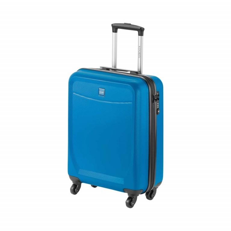 Loubs Trolley 4-Rollen Brisbane 55cm Blau, Farbe: blau/petrol, Marke: Loubs, Abmessungen in cm: 40.0x55.0x20.0, Bild 2 von 5